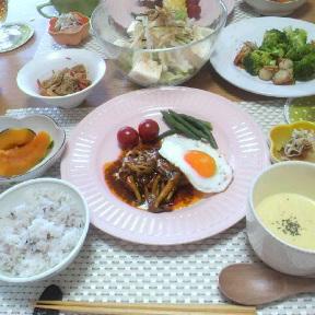 *昨日の晩御飯*